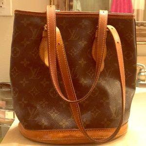 Authentic Louis Vuitton bucket purse